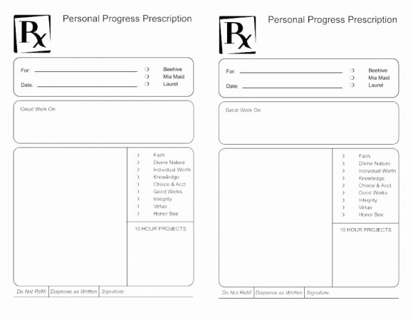 Prescription Pad Template Microsoft Word Awesome 32 Real & Fake Prescription Templates Printable Templates