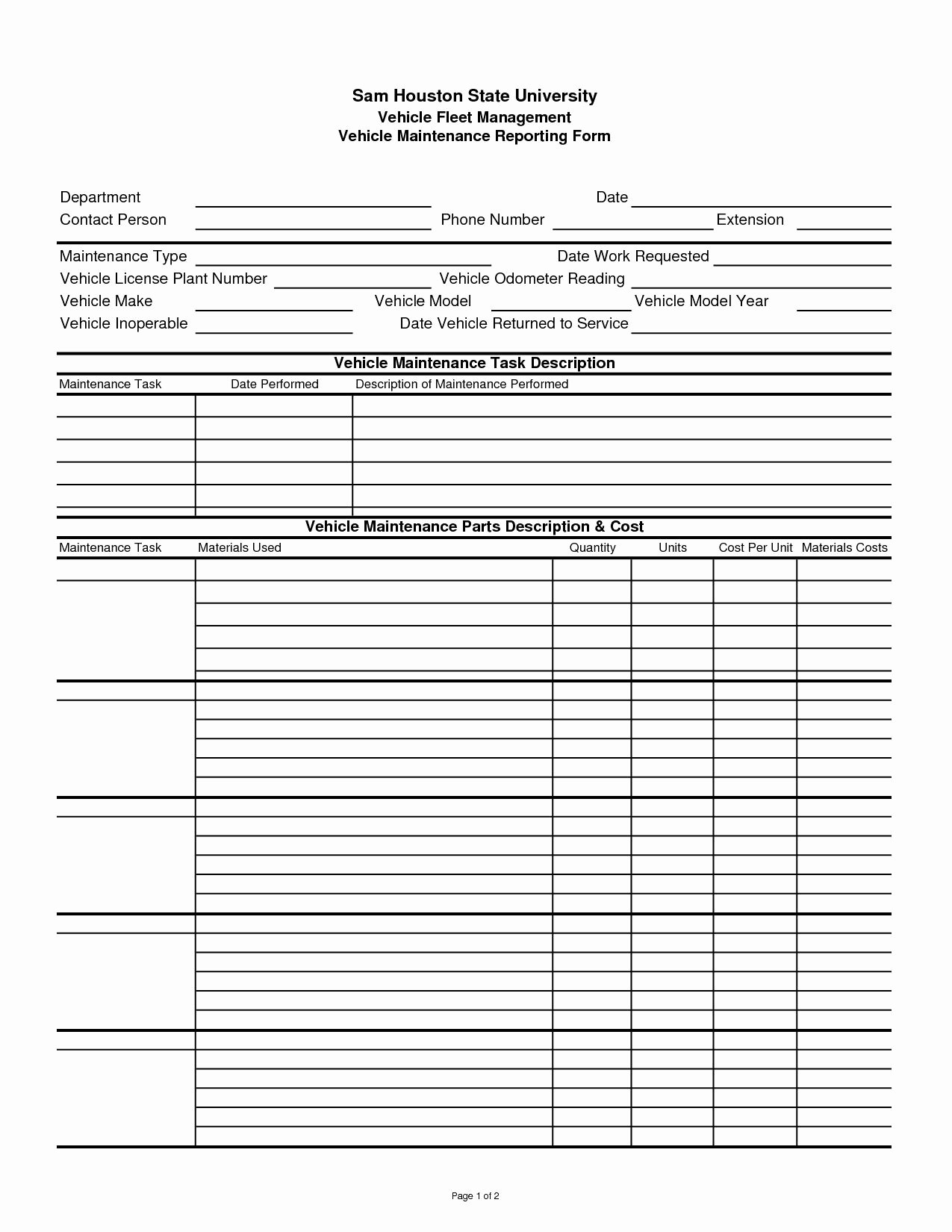 Preventive Maintenance Excel Template Fresh Preventive Maintenance Spreadsheet Spreadsheet softwar Preventive Maintenance Tracking
