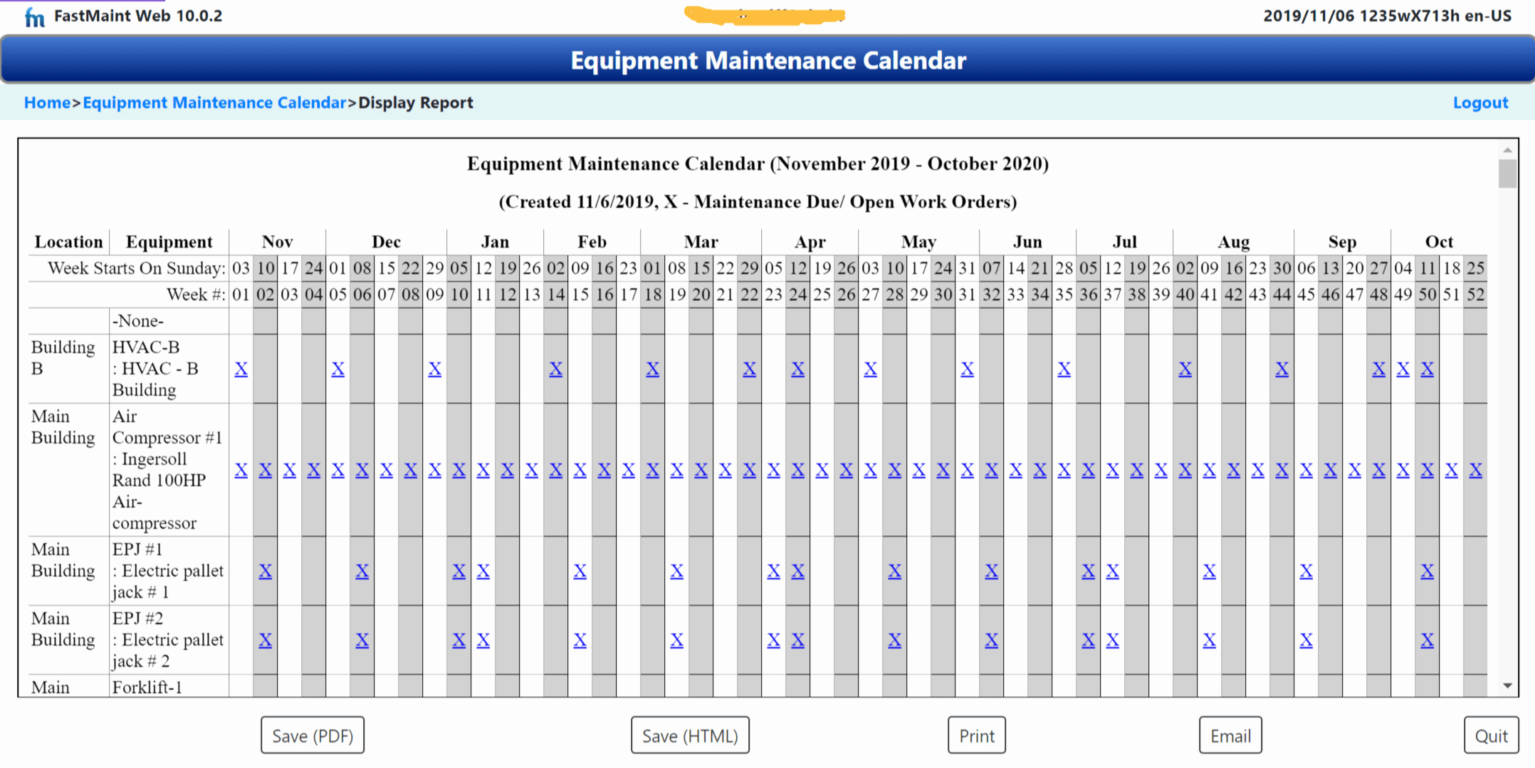 Preventive Maintenance Excel Template Lovely Use Maintenance Calendars In Your Preventive Maintenance Schedule