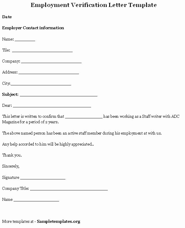 Previous Employment Verification form Beautiful Employment Verification Letter Template Bbq Grill Recipes