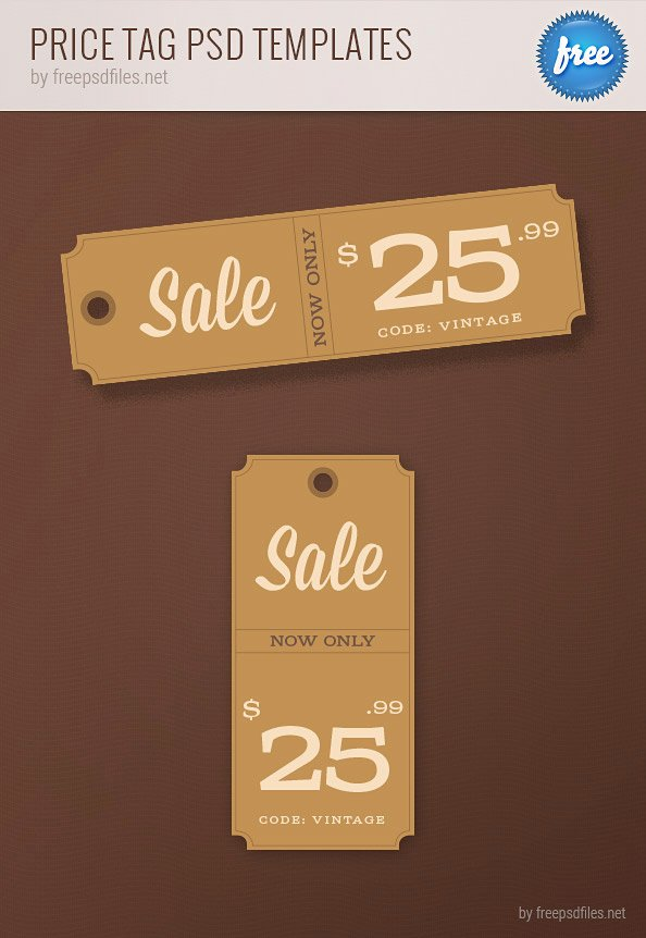 Price Tag Template Printable Beautiful Price Tag Psd Templates Free Psd Files