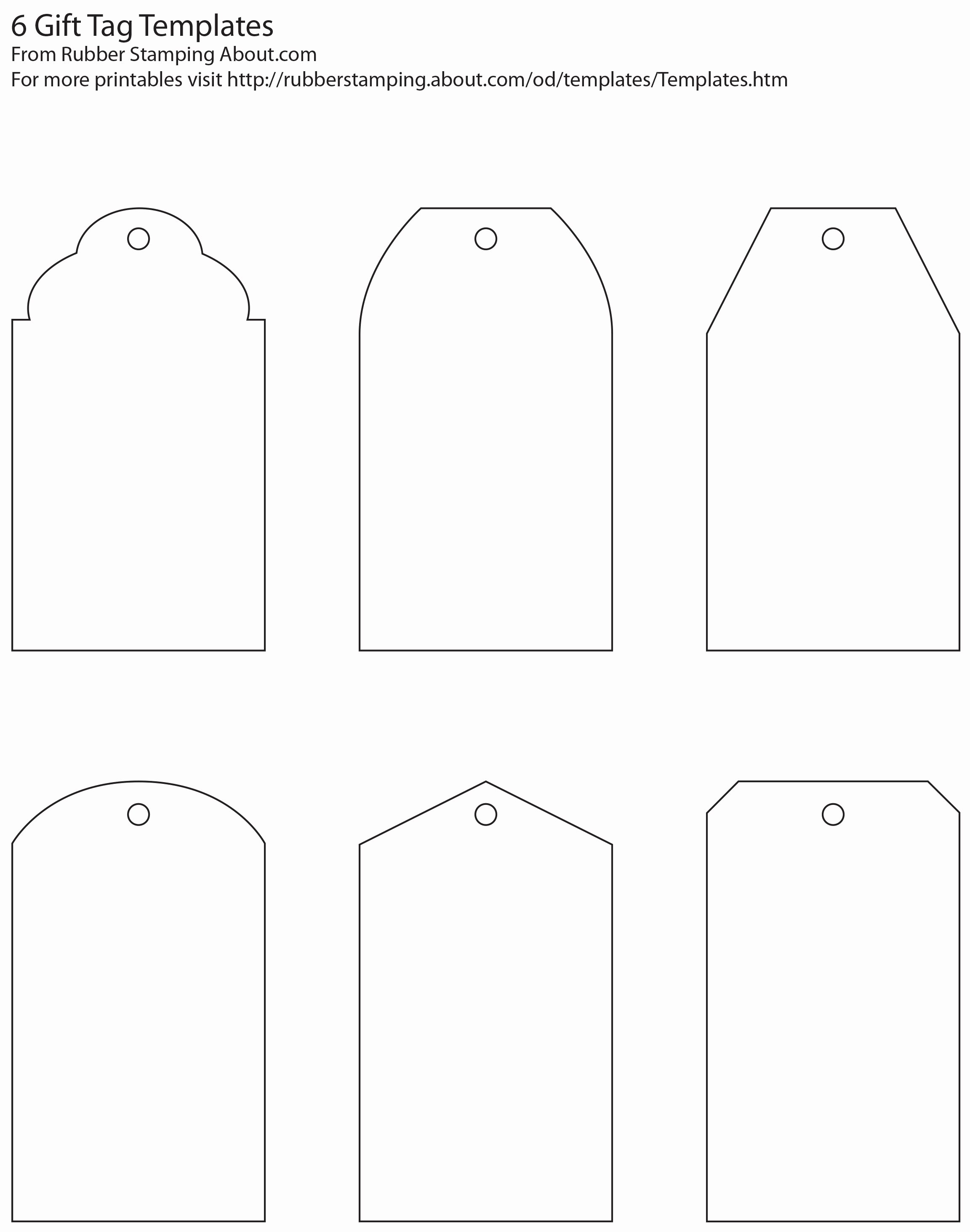 Price Tag Template Printable Luxury Make Your Own Custom Gift Tags with these Free Printable