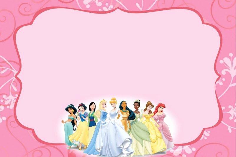 Princess Party Invitation Template Inspirational Free Templates for Princess Party Invitation Cards