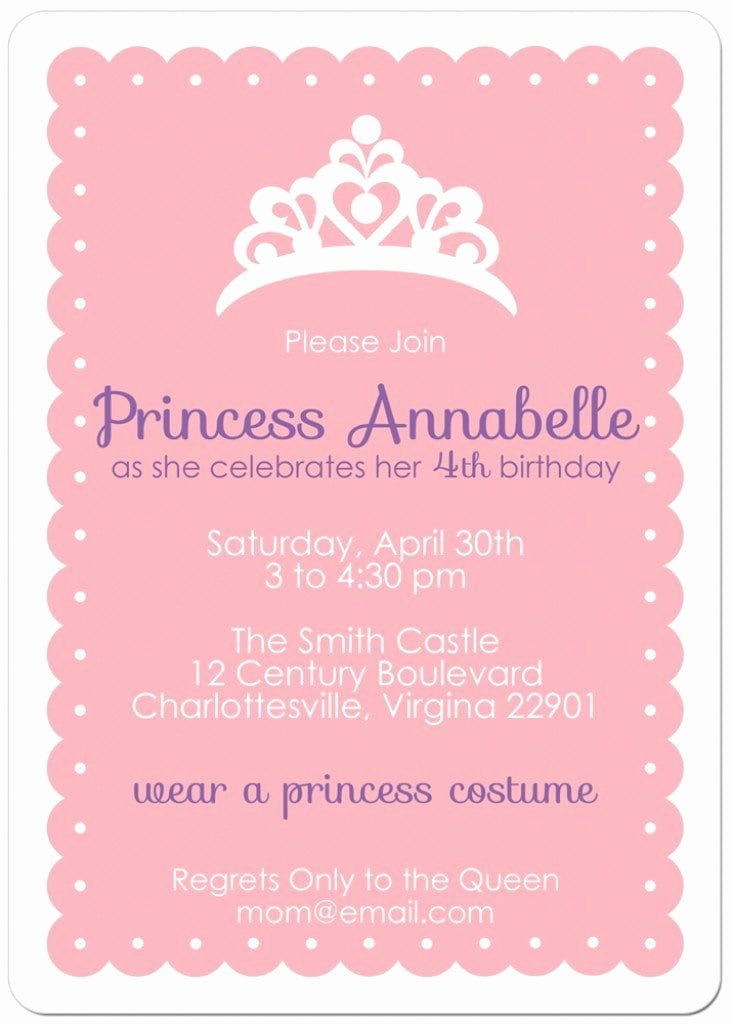 Princess Tea Party Invitations Inspirational Free Printable Princess Tea Party Invitations Templates