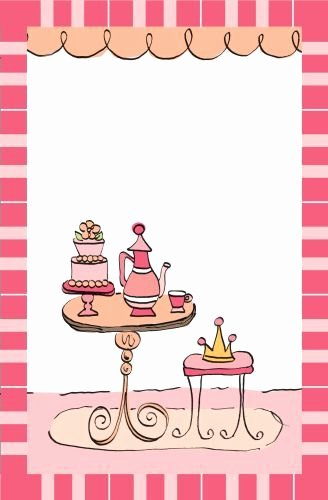 Princess Tea Party Invitations Luxury Princess Tea Party Invitation Celebrate It