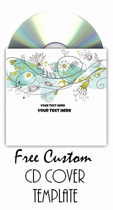 Printable Cd Sleeve Template Elegant Free Line Cd Cover Maker