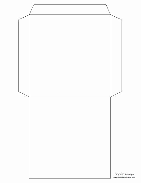 Printable Cd Sleeve Template Fresh Free Printable Cd Envelope Template ثيمات