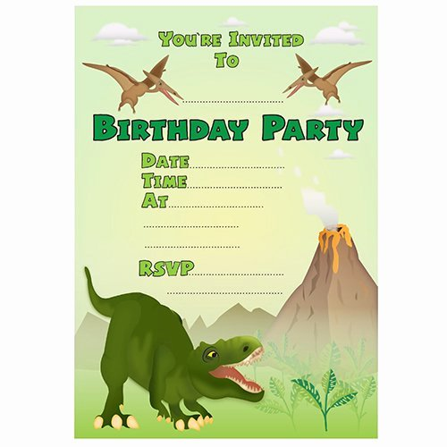 Printable Dinosaur Birthday Invitations Fresh 19 Roaring Dinosaur Birthday Invitations