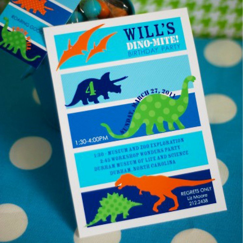 Printable Dinosaur Birthday Invitations New Dinosaur Birthday Party Printable Invitation