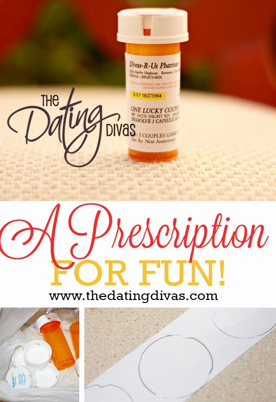 Printable Fake Prescription Labels New Prescription for Fun A Free Printable Romance Idea