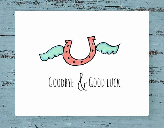 Printable Going Away Card Lovely 255 Best Printable Good Luck Cards Images On Pinterest