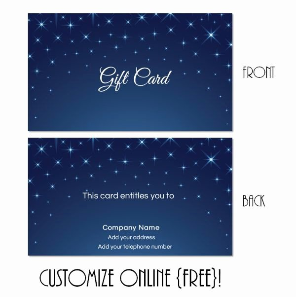 Printable Massage Gift Certificates Beautiful Free Printable T Card Templates that Can Be Customized Online Instant You Can Add