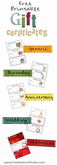 Printable Massage Gift Certificates Elegant Birthday T Certificate Printouts Free Printable Massage Coupon