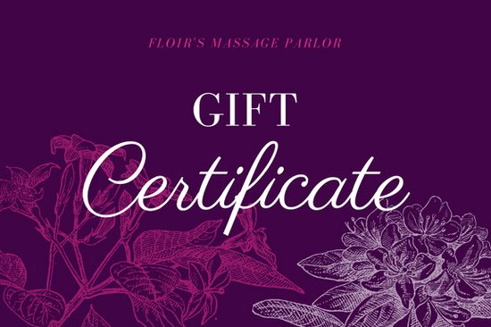 Printable Massage Gift Certificates Elegant Customize 100 Massage Gift Certificate Templates Online Canva