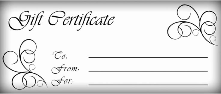 Printable Massage Gift Certificates Lovely T Certificates Templates Free Printable T Certificate Template Pictures 3