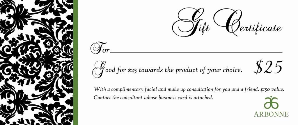 Printable Massage Gift Certificates New Free Printable Massage Gift Certificate Templates Template Update234 Template Update234