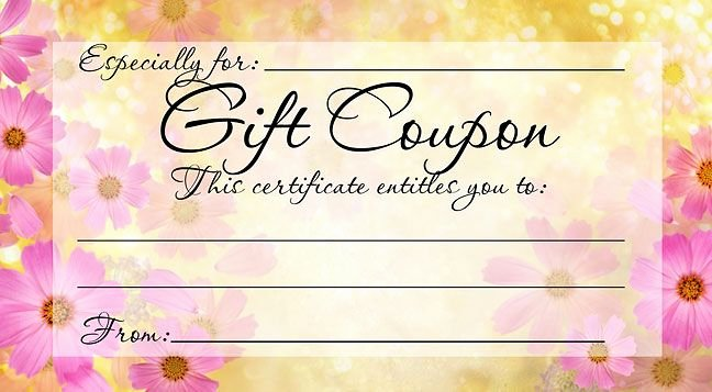 Printable Massage Gift Certificates New Pin by Party Favors On Mother S Day