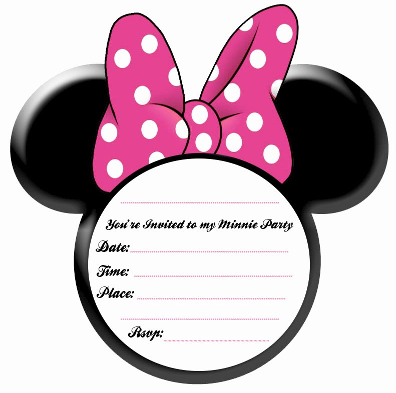 Printable Minnie Mouse Invitations Beautiful Party Simplicity Minnie Mouse Party Ideas and Free Printables