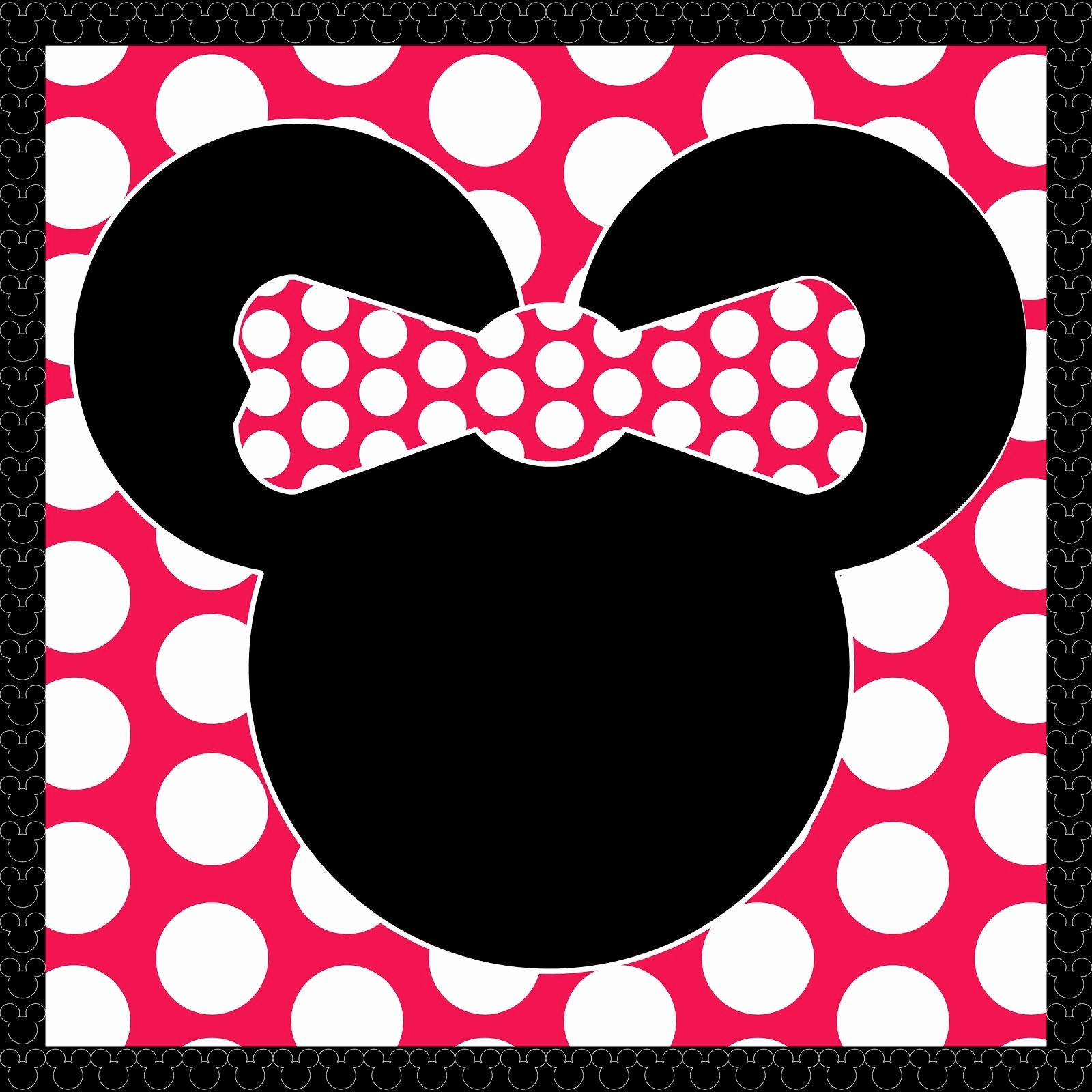 Printable Minnie Mouse Invitations Lovely Freebie Minnie Mouse Printable by Scrapdiggity