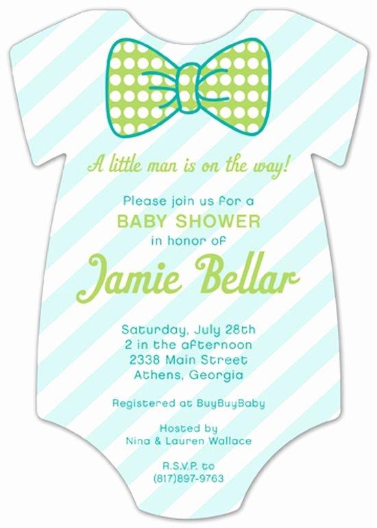 Printable Onesie Baby Shower Invitations Inspirational Pattern Cutie Esie Baby Shower Invitation