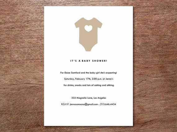 Printable Onesie Baby Shower Invitations New Baby Shower Invitation Download Esie Printable Baby