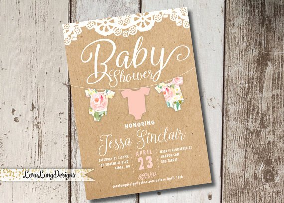 Printable Onesie Baby Shower Invitations New Digital Printable Esie Baby Shower Invitation Esie