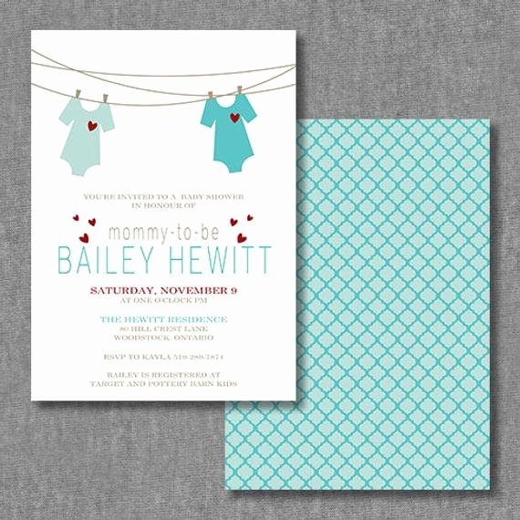 Printable Onesie Baby Shower Invitations Unique Diy Printable Custom Onesie Baby Shower Invitation Cards