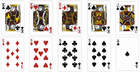 playing cards free vector
