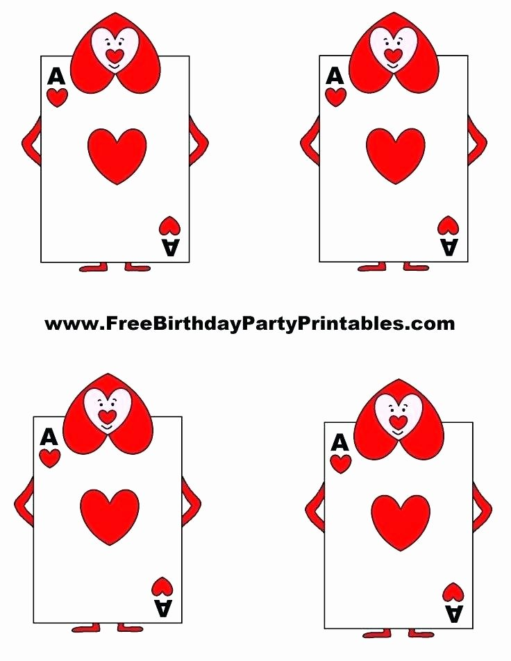 Printable Playing Card Template Luxury 17 Free Printable Playing Cards