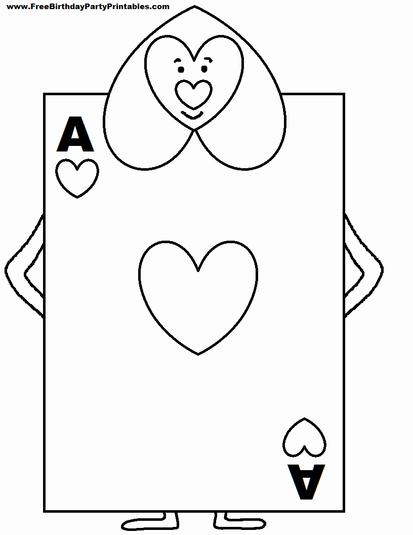Printable Playing Card Template Luxury Alice In Wonderland Card sol Rs Printable Cutout Mad Hatter Tea Party