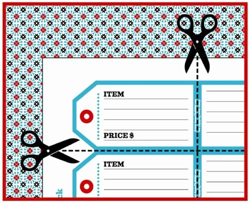 Printable Price Tags Template Luxury Best 25 Price Tags Ideas On Pinterest