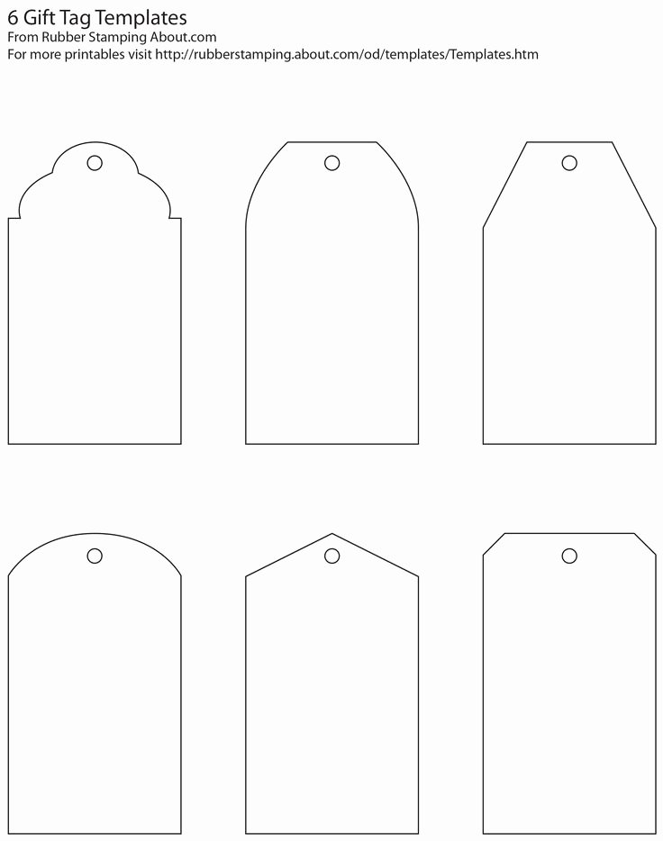 Printable Price Tags Template Luxury Make Your Own Custom Gift Tags with these Free Printable Tag Templates