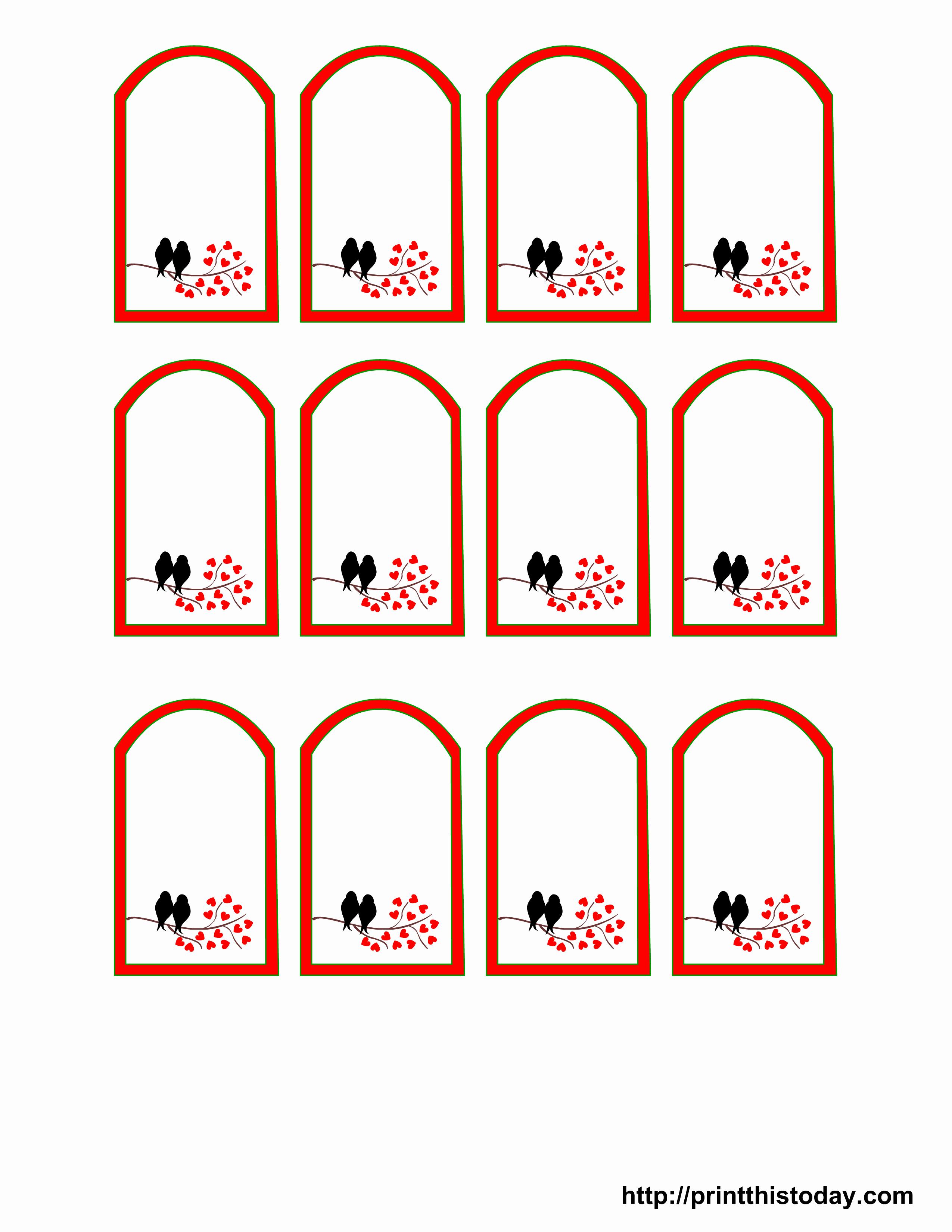 Printable Price Tags Template New Free Printable Wedding Favor Tags