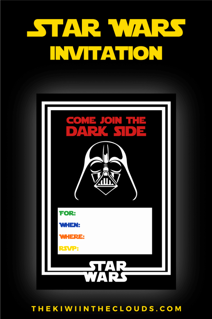 Printable Star Wars Birthday Invitations Best Of the Best Star Wars Party Ideas Happiness is Homemade