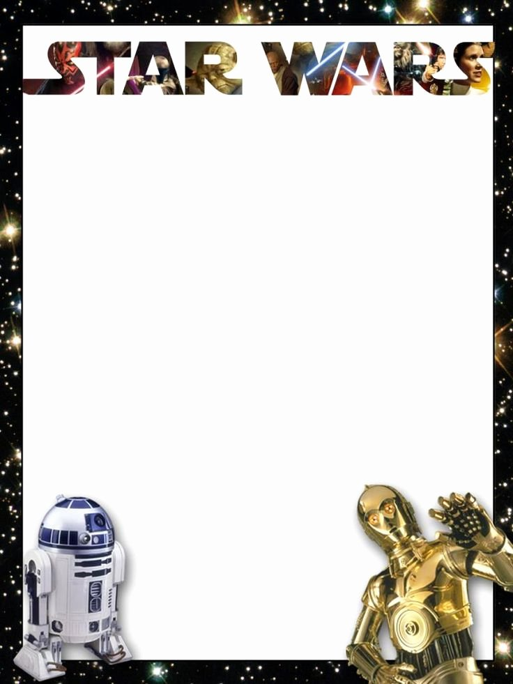 Printable Star Wars Birthday Invitations New 32 Amazing Star Wars Birthday Invitations