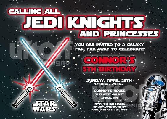 Printable Star Wars Birthday Invitations New Star Wars Invitations Free Printable Star Wars Pinterest