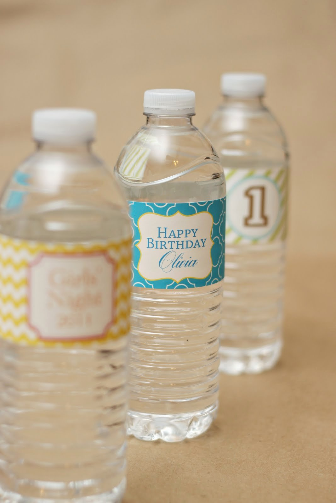 Printable Water Bottle Labels Unique Favorite New Patterns for Party Printables – at Home with Natalie