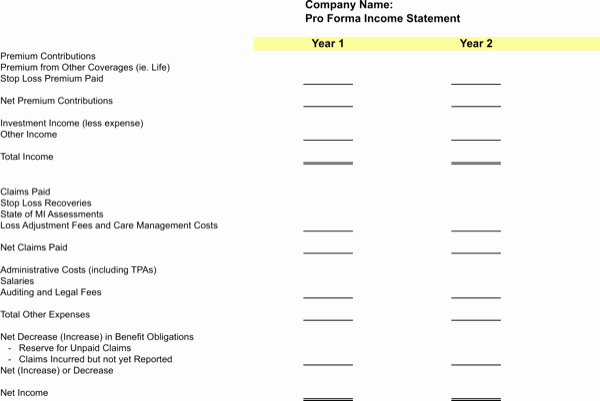 Pro forma Balance Sheet Template Awesome Download Pro forma Balance Sheet Template for Free