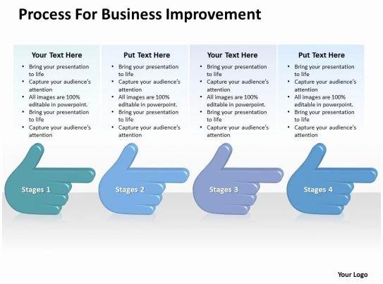 Process Improvement Plan Templates Elegant Business Powerpoint Examples Improvement Templates Ppt Backgrounds for Slides 0515