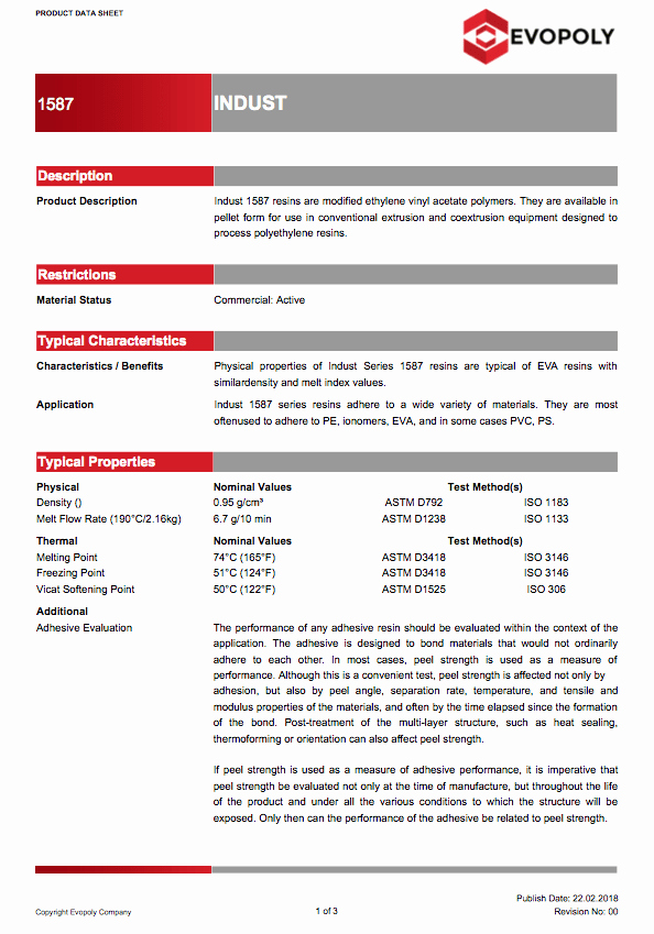 Product Data Sheet Template New Free Technical Data Sheet Templates for Polymer Products