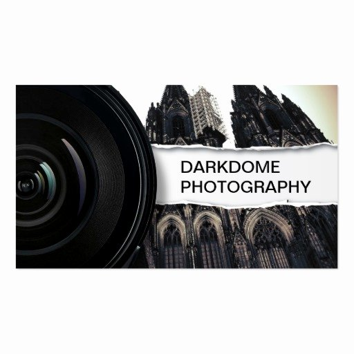 Professional Photography Business Cards Beautiful Professional Black & White Graphy Business Card