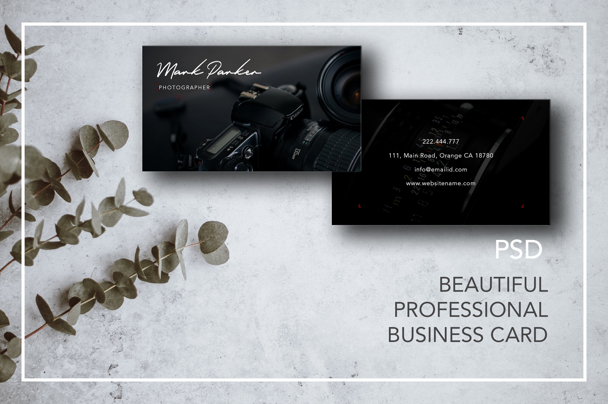 Professional Photography Business Cards Beautiful Professional Graphy Business Card