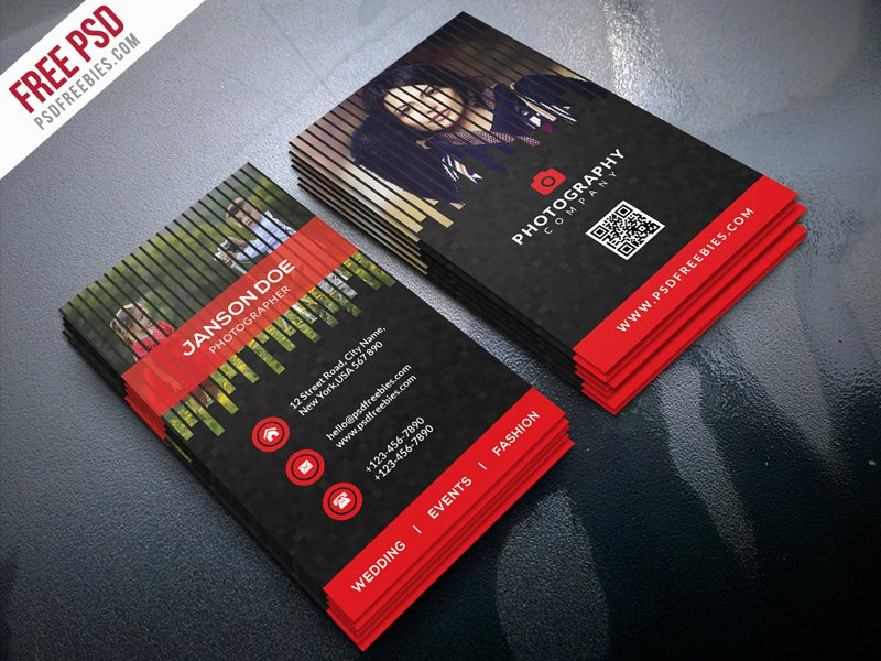 Professional Photography Business Cards Best Of Professional Grapher Business Card Psd Bundle