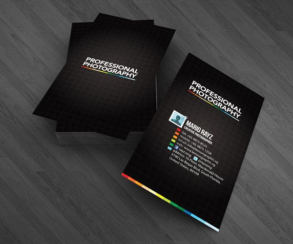 Professional Photography Business Cards Best Of Professional Photographer Business Cards On Behance