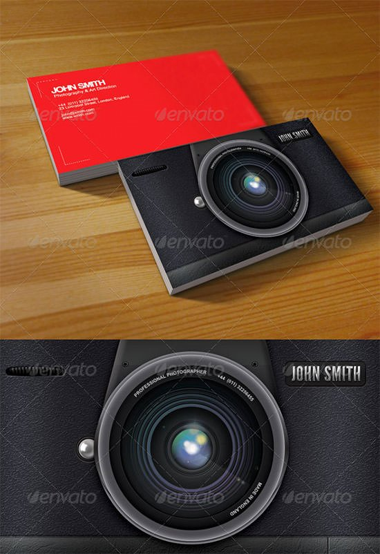 Professional Photography Business Cards Lovely 45 Premium Business Card Templates for Professional Graphers Psd Vector Eps