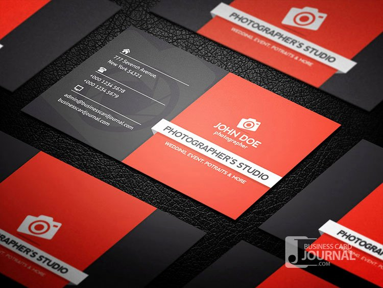Professional Photography Business Cards Luxury 10 Best Graphy Business Card Templates Designerslib