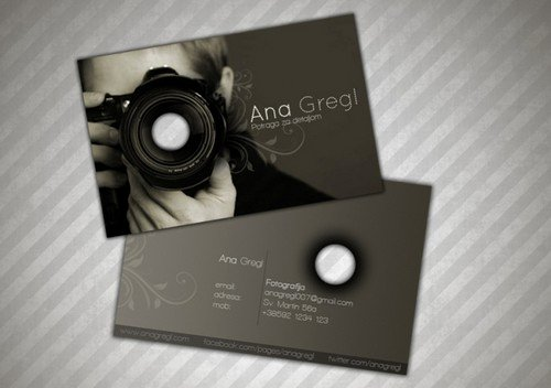 Professional Photography Business Cards Luxury 33 Cool Grapher Business Cards Psd and Examples