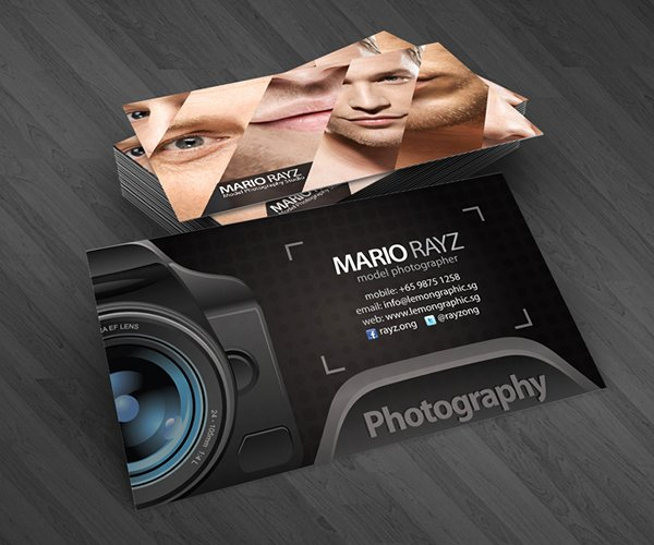 Professional Photography Business Cards Unique Professional Photographer Business Cards On Behance