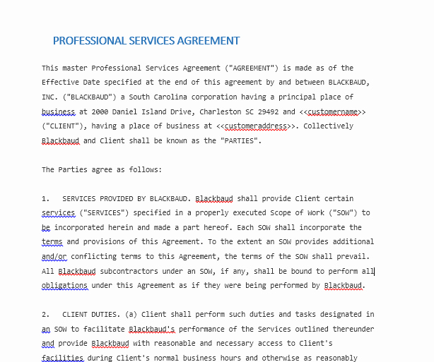 Professional Services Agreement Template Beautiful Professional Services Agreement Templates 24 Free Samples Microsoft Word Templates
