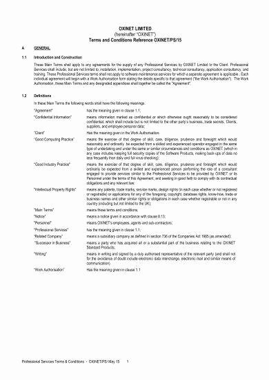 Professional Services Agreement Template Best Of 28 Professional Services Agreement Examples Pdf Word